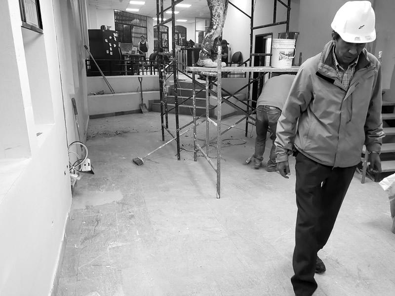 Dimacon - Remodelación de construcciones interiores oficinas