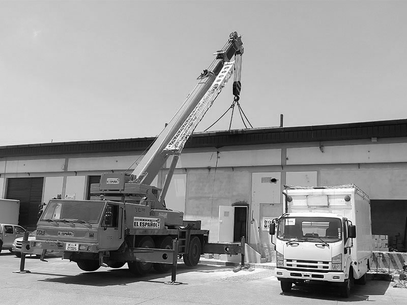 Dimacon -Transporte de materiales para la construcción